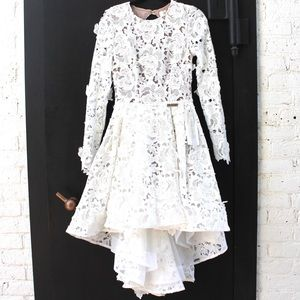 Bronx & Banco White Floral Dress